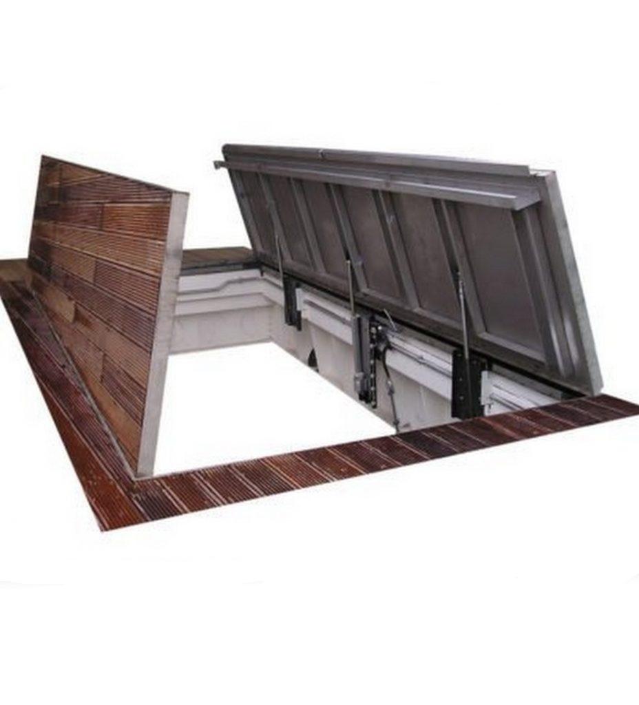 Recessed Floor Access Hatch
